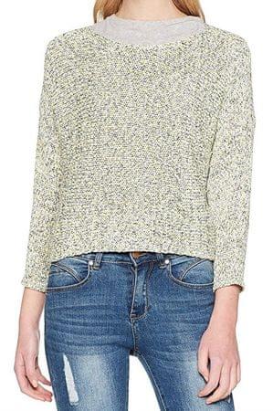 ONLY Dámsky sveter Silvia L/S Pullover KNT Limeade (Veľkosť S)