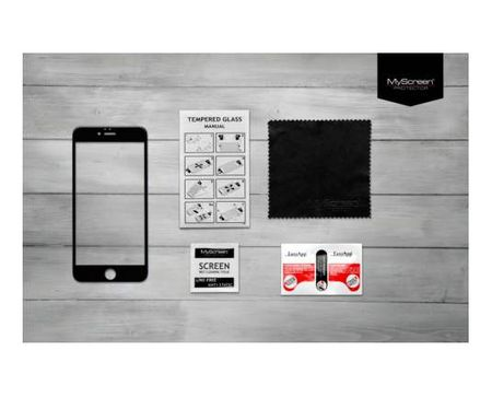 MyScreen Protector Zaščitno steklo za iPhone Xr, , Full screen Edge 2,5D Glass črno
