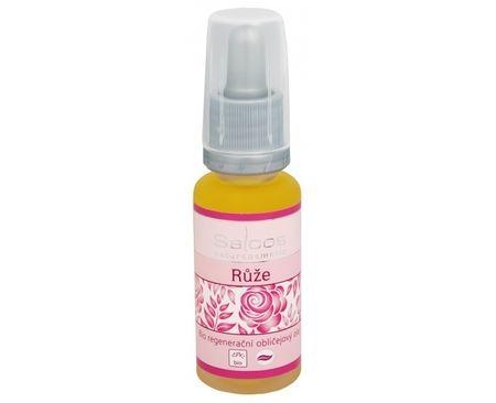 Saloos Bio regenerační obličejový olej - Růže (Objem 20 ml)