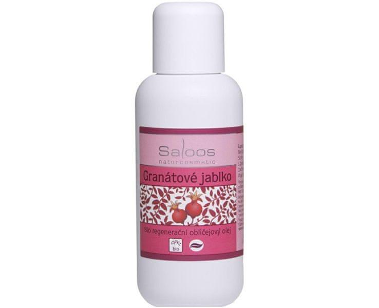 Saloos Bio regenerační obličejový olej - Granátové jablko (Objem 100 ml)