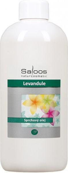 Saloos Sprchový olej - Levandule (Objem 500 ml)