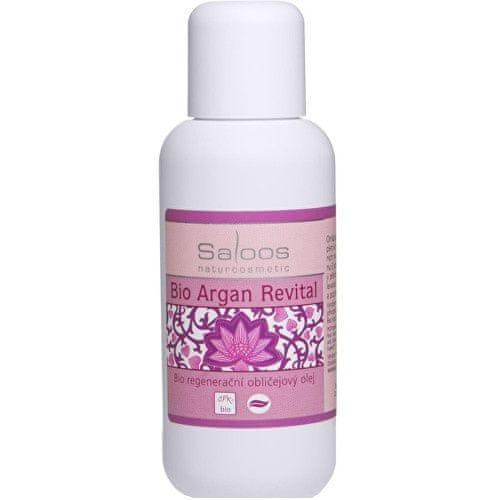 Saloos Bio regenerační obličejový olej - Argan Revital (Objem 100 ml)