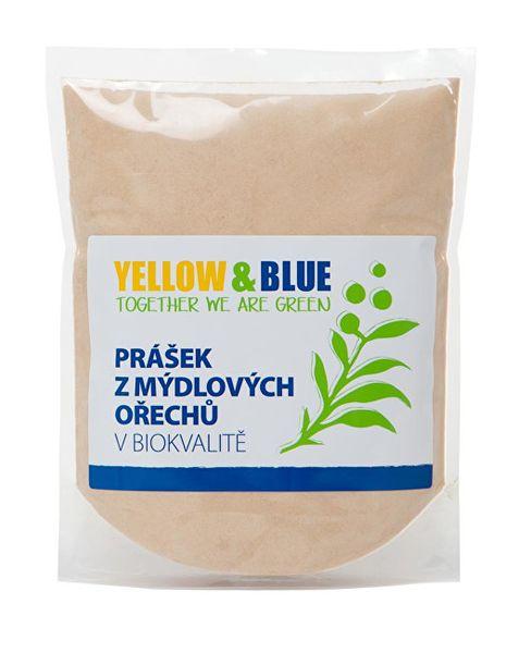 Yellow & Blue Prášek z mýdlových ořechů v bio kvalitě (Varianta PE sáček 0,5 kg)