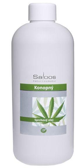 Saloos Sprchový olej - Konopný (Objem 500 ml)