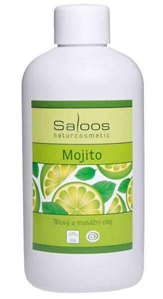 Saloos Bio tělový a masážní olej - Mojito (Objem 250 ml)