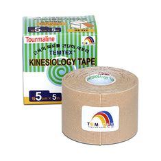 TEMTEX Tejp. TEMTEX kinesio tape Tourmaline 5 cm x 5 m