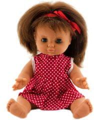 Teddies dojenček v oblekici, 30 cm, rdeča