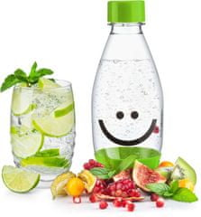 SodaStream Lahev dětská 0.5l Smajlík zelená