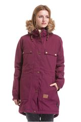 MEATFLY Dámska bunda Ruby 2 Parka Purple