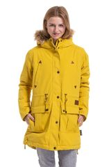 MEATFLY Dámska bunda Rainy 3 Parka Yellow