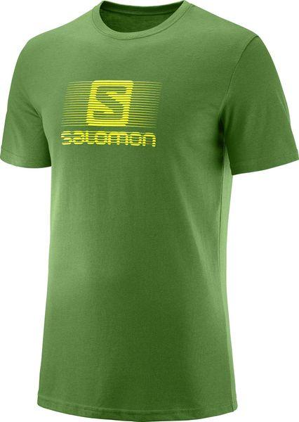 Salomon Blend Logo SS Tee M Treetop M 73607fde9a
