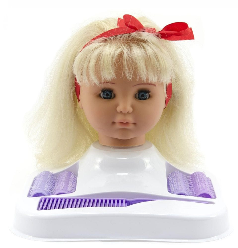Teddies Česací hlava blond