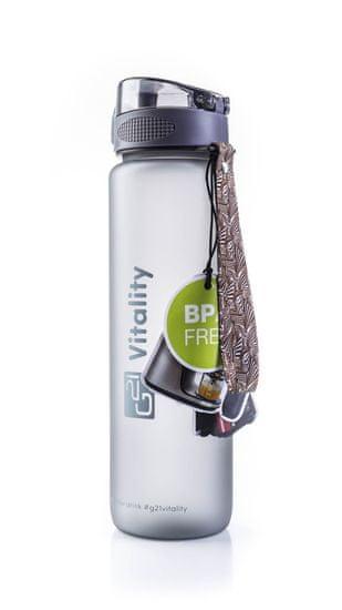 G21 Ivó palack 1000 ml szürke-fagyott