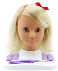 Teddies Česací hlava velká blond
