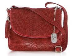 Anna Morellini ženska torbica, rdeča