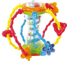 Teddies BABY Képességfejlesztő gömb csörgő 15 cm