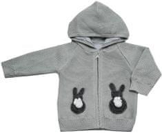 EKO dekliški pulover z vzorcem zajčkov