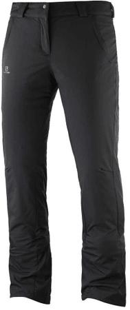 Salomon ženske zimske hlače Stormseason Pant W Black, XS/R, črne