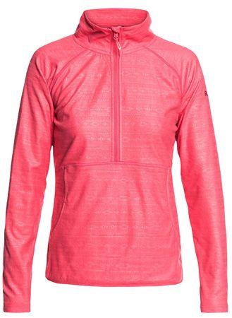 ROXY Cascade Tea Berry Damska bluza z kapturem Indie Stripe s wytłoczonym ERJFT03855-MMN4 (rozmiar M)