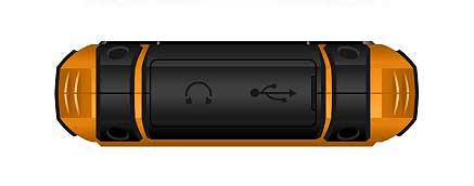 iGET telefon Defender D10, Orange