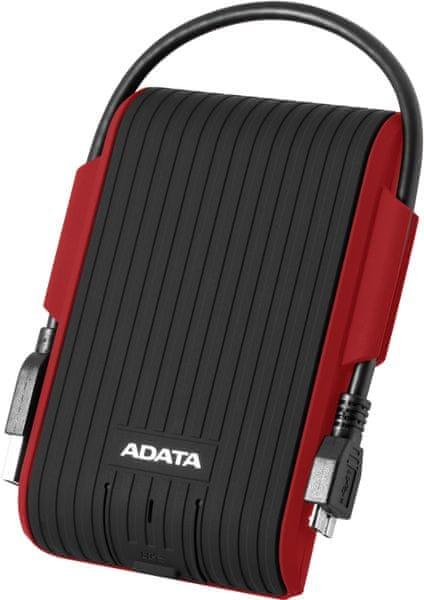 Adata HD725 - 1TB, červená (AHD725-1TU31-CRD)