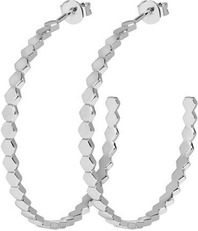 Circular Kolczyki składający się z sześciokątów CLJ52008