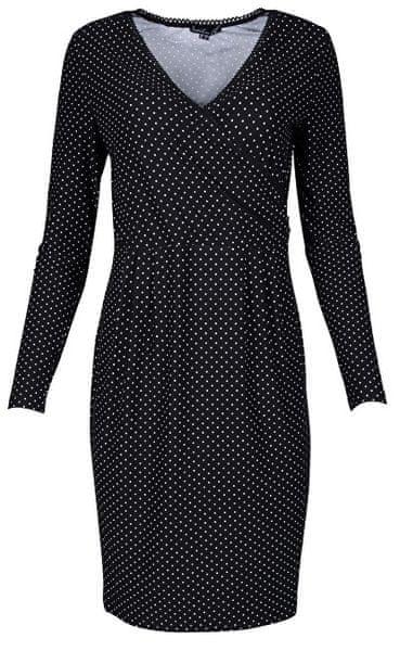 55fd2879a633 Smashed Lemon Dámské šaty Black White 18575 (Velikost S)