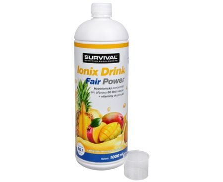 Survival Ionix Drink Fair Power 1000 ml (Příchuť Ionix Drink Fair Power Ananas + Mango)