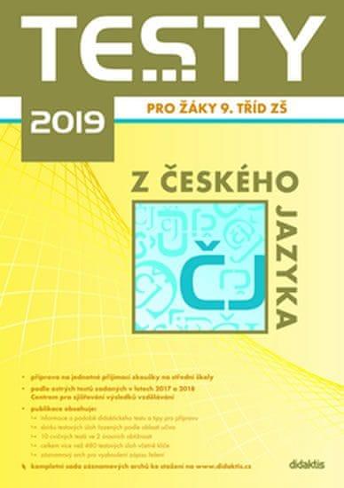 Testy 2019 z českého jazyka pro žáky 9. tříd ZŠ