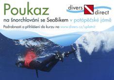 Poukaz dárkový na šnorchlování se SeaBikem