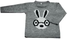 EKO dekliški pulover z motivom zajčka