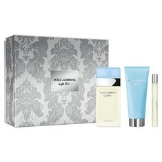 Dolce & Gabbana Light Blue - EDT 100 ml + tělový krém 100 ml + EDT 10 ml