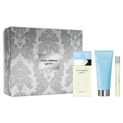 Dolce & Gabbana Light Blue - EDT 100 ml + tělový krém 100 ml + EDT 10 ml