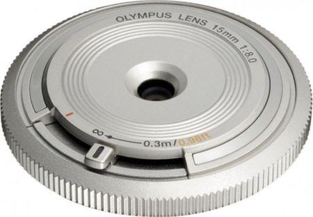 Olympus 15 mm M.Zuiko Digital f/8,0, srebrny