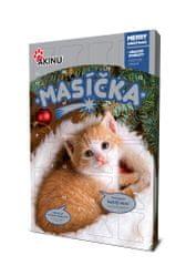 Akinu adventný kalendár pre mačky MÄSKO 240g