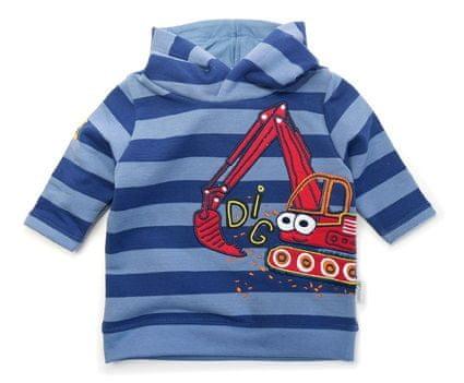 Gelati chłopięca bluza z koparką, 68, niebieska