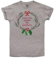 Christmas T-shirt dámské tričko Mistletoe
