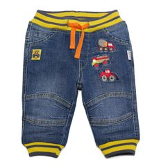 Gelati fantovske hlače z motivom avtomobilov