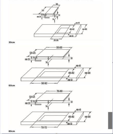 Gorenje płyta ceramiczna ECT643BCSC