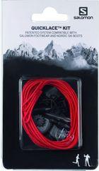 Salomon sznurówki Quicklace Kit czerwony