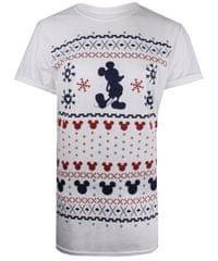 Christmas T-shirt ženska majica kratkih rukava Mickey Fairisle