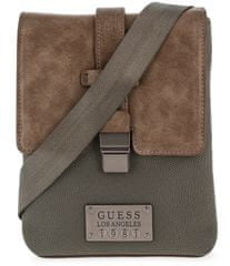 Guess moška torbica za čez ramena, rjava