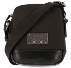 Guess moška torbica, črna