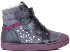 D-D-step dziewczęce botki z gwiazdkami