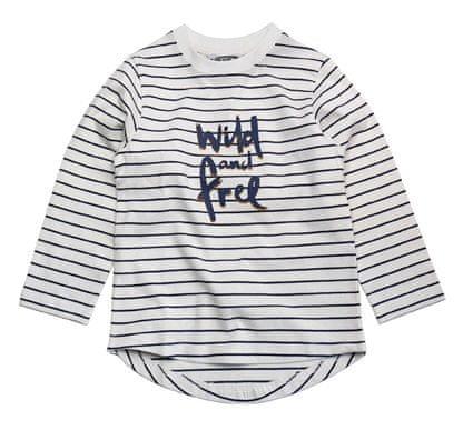 Gelati chlapecké proužkované tričko 98 bílá