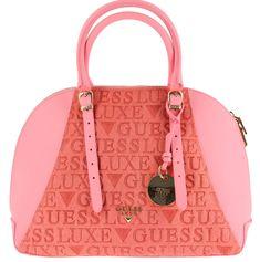 Guess růžová kabelka