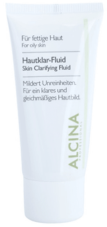 Alcina Bylinný fluid pro mastnou pleť (Skin Clarifying Fluid) 50 ml