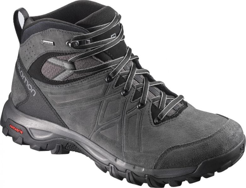 Salomon Evasion 2 Mid Ltr Gtx® Magnet/Phantom/Quiet Shade 46.7
