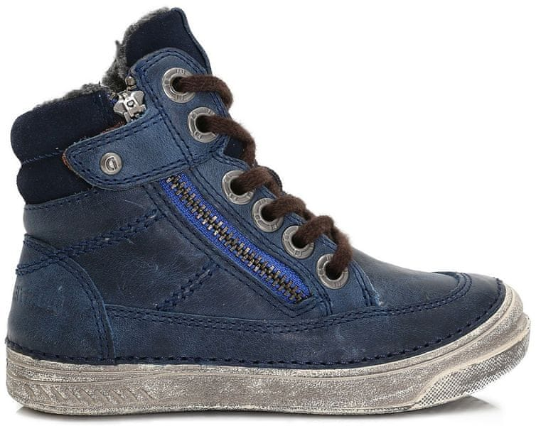 a591261c504 D-D-step chlapecké kotníkové boty 26 modrá