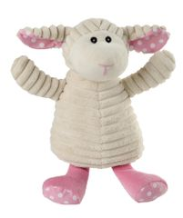Warmies otroški termofor s sivko, ovčka, bež/roza